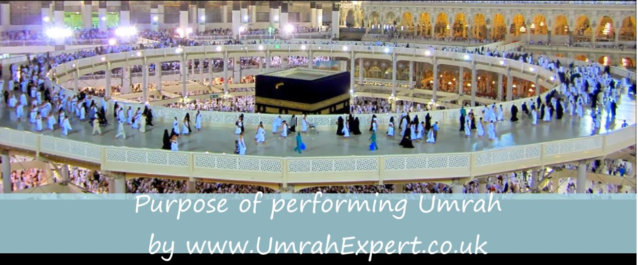 Purpose of performing Umrah