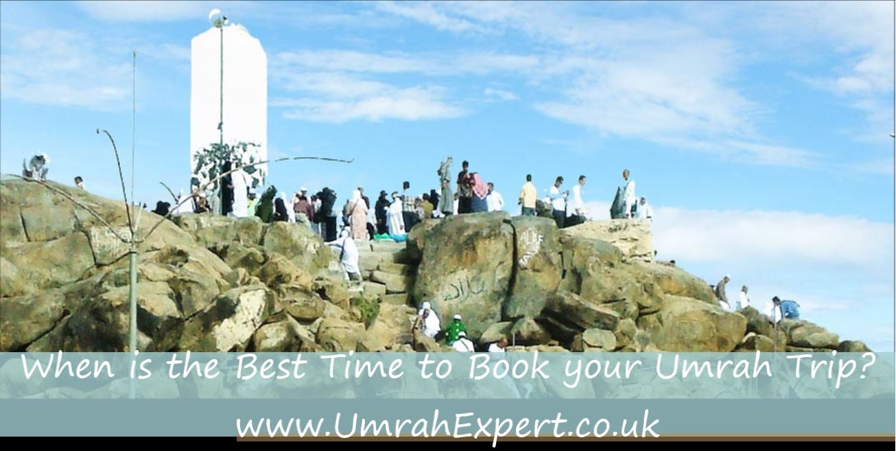 When is the Best Time to Book your Umrah Trip?
