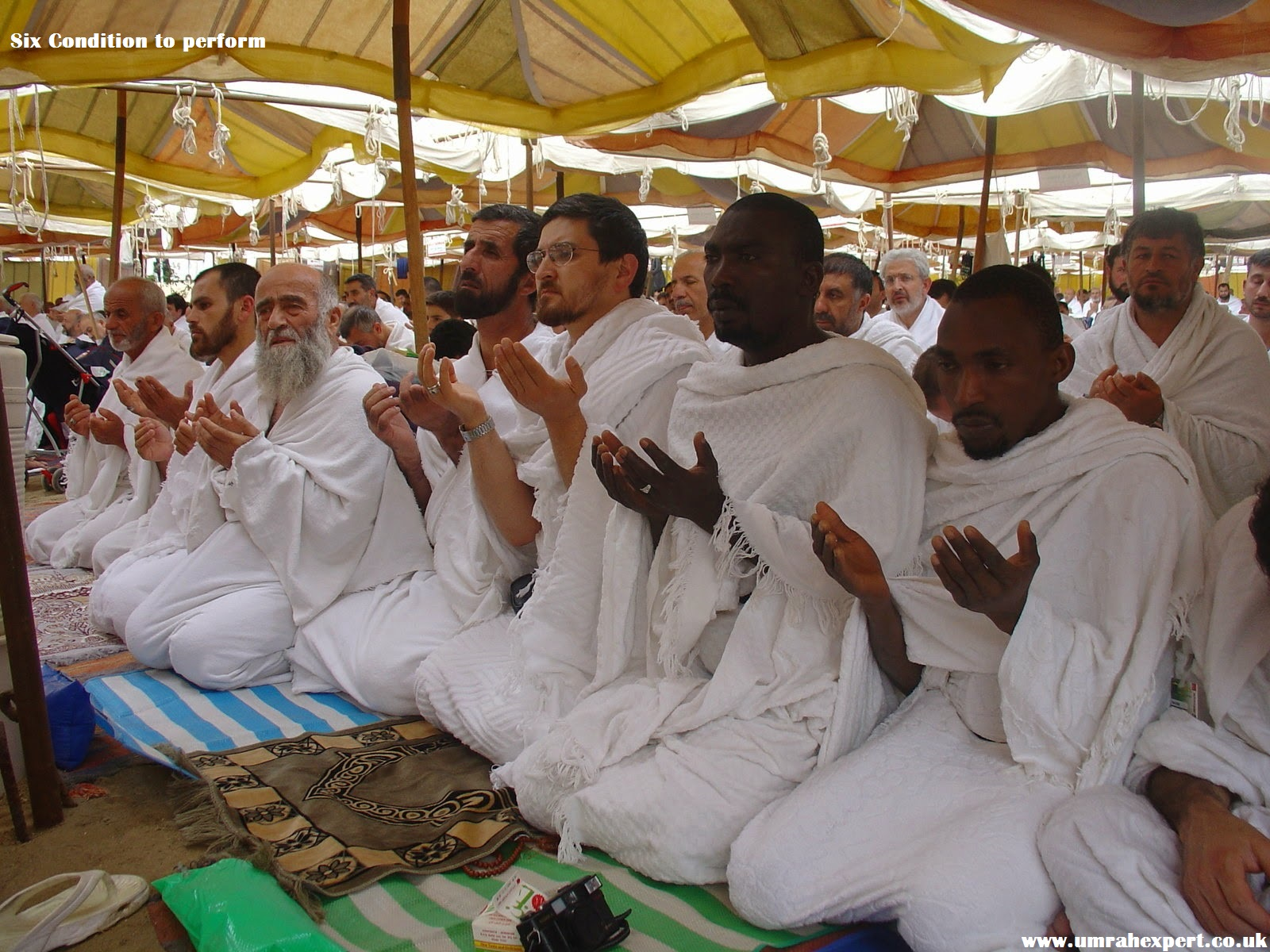 Six Condition to perform Hajj